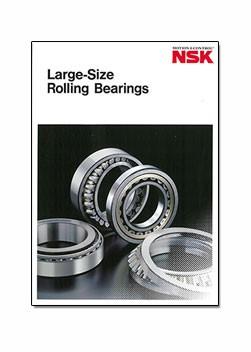 NSK Large Size Rolling Bearings